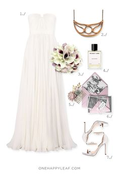 Wedding inspiration for relaxed bride