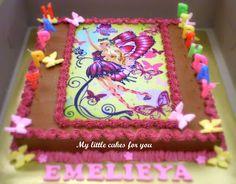 barbie mariposa cake toppers | Mariposa Barbie Butterfly