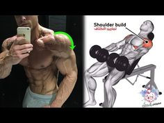 BEST 7 EXERCISES SHOULDER TO BUILD DUMBBELL - YouTube Chest Workout For Men, Gym Workouts For Men, Workout Videos For Women, Gym Workout Videos, Gym Workout For Beginners, Fit Board Workouts, Shoulder Routine, Back And Shoulder Workout, Shoulder Stability Exercises