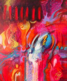 Arts, Comme, Boutique, Painting, Fireflies, Rest, Fire, Painting Art, Boutiques