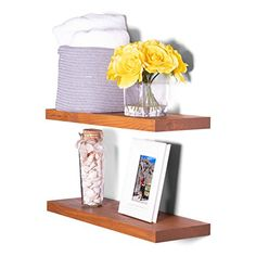Floating Shelf Brackets, Wood Floating Shelves, Wall Decor Set, Wood Wall Decor, Deep Cleaning, Modern Rustic, Trees To Plant, Solid Wood, Pine