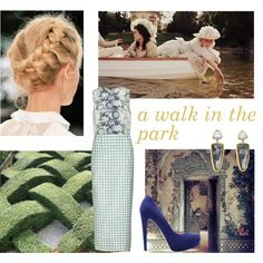 """""""a walk in the park"""" by being-antoinette on Polyvore"""