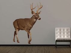 british deer wall sticker stickers from fads modern geometric decals diy easy