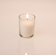 Get these! Filled Glass Votive Holders in Bulk Package
