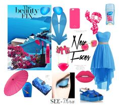 """""""Sea and Sun !"""" by styleandsun ❤ liked on Polyvore featuring Agent Provocateur, Ray-Ban, RAS, Shiseido, Kate Spade, Cultural Intrigue, Trina Turk, Louis Vuitton, SonyaRenée and Lime Crime"""