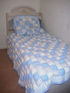 Love this puff quilt.