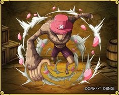Strengthening Tony Tony Chopper flying force (jumping points)