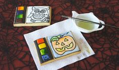 Montreal Confections: Paint Palette Cookies for Tuto Tuesdays!