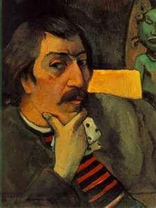 Van Gogh -Portrait of Paul Gauguin