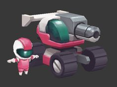VG Remix – Blaster Master - Polycount Forum (the final piece is the selling point. Click the link.)
