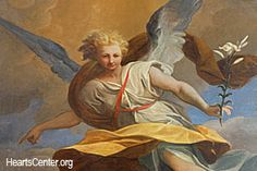 Archangel Gabriel Emanates the Light of Hope within Our Hearts and Souls