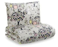 Moomin Celebration Tove 100 Duvet Cover Pillow Case 150 x 210 cm Bed Linen Sets, Duvet Sets, Duvet Cover Sets, Enchanted Doll, Stylish Beds, Scandinavian Interior Design, Room Planning, Marimekko, Bed Covers