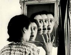 """GRETE STERN: """"From 1948 to Stern was hired by a womens' magazine to """"illustrate"""" the dreams that readers of the magazine (mostly Argentine housewives) submitted. Grete Stern, Pina Bausch, Diane Arbus, Photomontage, Artistic Photography, Art Photography, Experimental Photography, Bauhaus, Ghost In The Machine"""