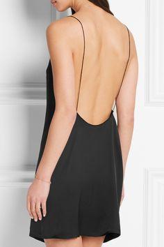 Kiki de Montparnasse | Amour silk-charmeuse chemise | NET-A-PORTER.COM