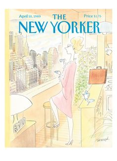 Sempé - The New Yorker cover, 1989