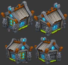 ArtStation - 3D Buildings and Props, Adam Roark