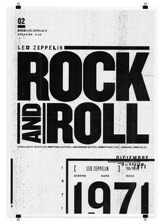 Led Zeppelin by Matias Chilo, via Behance