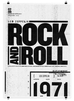 Led Zeppelin by Matias Chilo, via Behance
