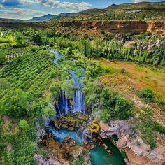 Konya-Yerköprü Şelalesi Turkey Photos, Turkey Travel, Istanbul Turkey, Antalya, Geography, Mother Nature, The Good Place, Waterfall, Paradise