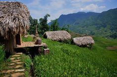 Sapa, Vietnam: Accommodation - Sapa Hmong Retreat. Stay on the cascading hills overlooking the Fansipan
