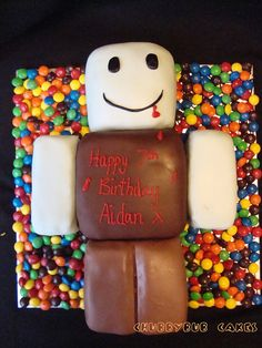 22 Best Roblox Cakes Images Roblox Cake Roblox Birthday Cake