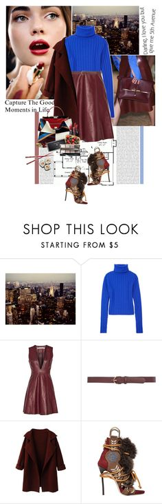 """the good"" by giogiota ❤ liked on Polyvore featuring Oris, Dolce&Gabbana, DKNY, Acne Studios, Dorothy Perkins, Dsquared2, Avenue and MAKE UP FOR EVER"