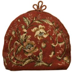 Antique English Hand-Beaded Tea Cozy | From a unique collection of antique and modern tea sets at https://www.1stdibs.com/furniture/dining-entertaining/tea-sets/