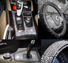 Self Adhesive Rhinestones Auto Crystal sticker Diamond sticker car accessories