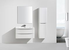New To Our Reflections Range This Bali Bathroom Furniture In White Ash Finish Looks Ultra Sleek