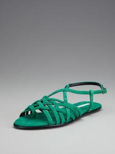 amazing green sandal