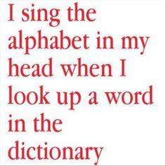 sing the alphebet