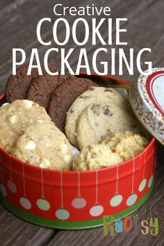 Create gift baskets full of love and joy by filling them with homemade Christmas cookies customized with flavors designed for everyone on your list. Holiday Cookies, Holiday Treats, Christmas Treats, Holiday Recipes, Christmas Deserts, Christmas Dishes, Christmas Foods, Christmas 2019, Christmas Decorations