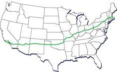 Bike Across America...this would be amazing (3865 miles in 10 weeks)
