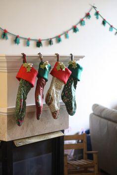 Stockings finished 2