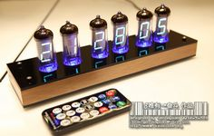 Nixie tube clock (WANT)