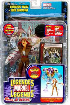 AMAZING MARVEL LEGENDS LADY DEATHSTRIKE ACTION FIGURE SOLD OUT !