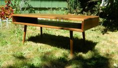 Mid Century Inspired Coffee Table by OrWaDesigns on Etsy, $220.00