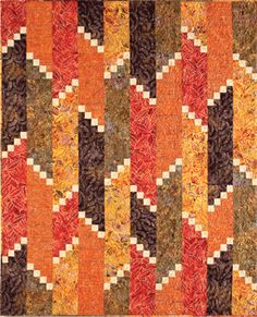 Fire Escape Quilt Pattern - Google Search  This is by Atkinson Designs.  Love these fiery colors.