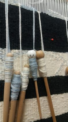 """Hanging around - nothing to do. Work in progress - """"stolen childhood"""" by manuel wandl 17 Weaving, Childhood, Tapestry, Hanging Tapestry, Infancy, Tapestries, Loom Weaving, Crocheting, Knitting"""