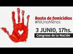 Ni una menos #NiUnaMenos Basta de femicidios - YouTube
