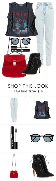 """Addiction.net"" by dancing-penguins ❤ liked on Polyvore featuring WÃ¥ven, Floyd, LORAC, Retrò, Proenza Schouler and Gianvito Rossi"