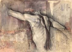 Collage drawing, tomas watson 2014