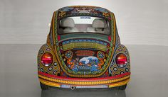 Vochol:Huíchol Art on Wheels by SmithsonianNMAI, via Flickr