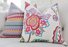 Cushions #multicoloured