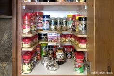 365 Days of Slow Cooking: Looking for a way to organize your spices?