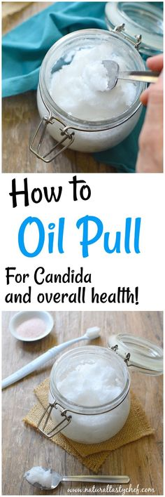 Learn how to oil pull: an Ayurvedic dental technique that is beneficial for candida, oral and overall health. In this post I share my daily morning oil pulling routine. Dental Health, Oral Health, Health And Wellness, Health And Beauty, Gut Health, Dental Care, Anti Candida Diet, Candida Diet Recipes, Natural Add Remedies