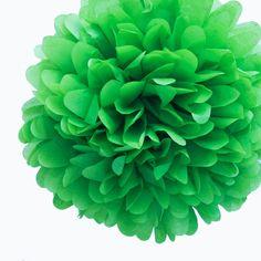 14 Kelly Green Tissue Paper Pom Poms BULK (Set of 4) [DMC7318 Green Tissue Pom Poms] : Wholesale Wedding Supplies, Discount Wedding Favors, Party Favors, and Bulk Event Supplies