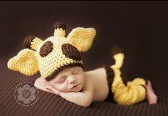 Crochet Baby Giraffe Outfit  LOVE!!!!!!!!!!!!!!!!!!!!!!!!!!