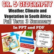 Grade 5 Geography Term 3 - Powerpoint slides and PDF Summary in English - Teacha! Remarks For Report Card, Class Presentation, Borderline Personality Disorder, Social Science, Summary, Geography, Pdf, South Africa, Education