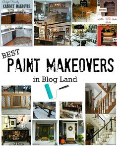 Best Paint Makeovers in BLOG LAND!